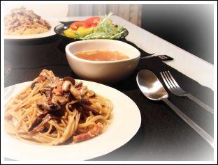 Spaghetti_ai_porcini_e_pancetta