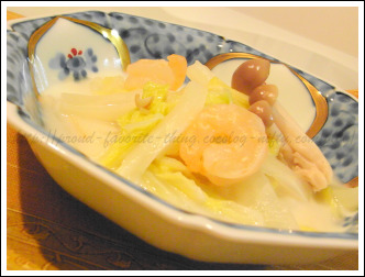 Cream_of_chinese_cabbage_andthe_shr